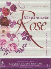 petillant-Mlle Rose-meyran
